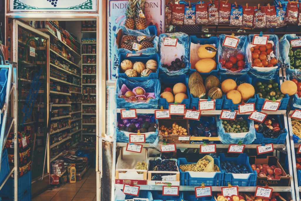 fruit at a local / convenience store